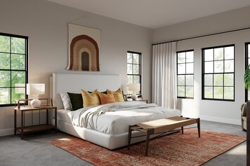 Online design Eclectic Bedroom by Drew F. thumbnail