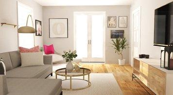 Online design Modern Living Room by Deandra G. thumbnail