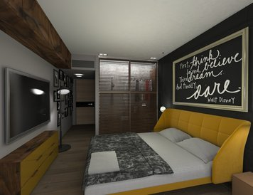 Online design Glamorous Bedroom by Vanessa A. thumbnail