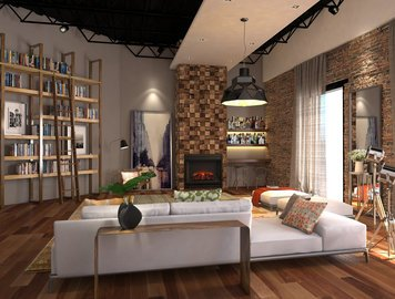 Online design Contemporary Living Room by Vale G. thumbnail