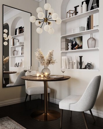 Online design Modern Combined Living/Dining by Erin R. thumbnail