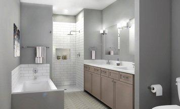 Online design Modern Bathroom by Kristina O. thumbnail