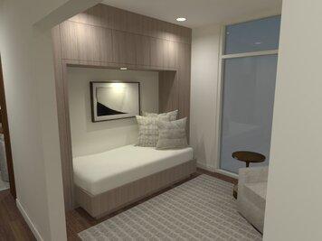 Online design Modern Bedroom by Elvin A. thumbnail