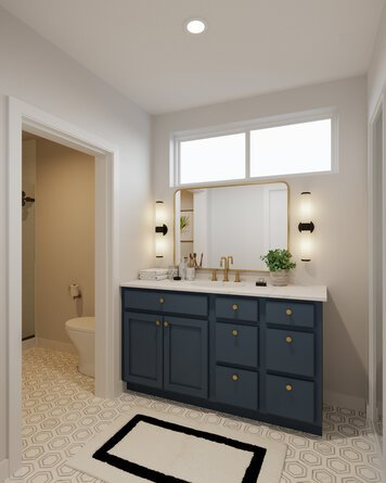 Online design Contemporary Bathroom by Casey H. thumbnail