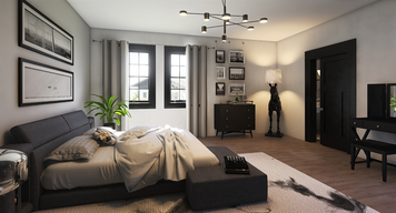 Online design Country/Cottage Bedroom by Lizzy M. thumbnail