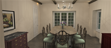 Online design Transitional Dining Room by Shanthi O. thumbnail