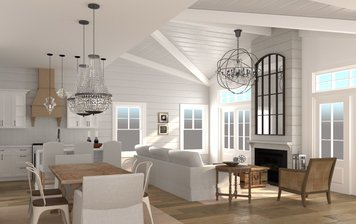 Online design Beach Combined Living/Dining by Jessica S. thumbnail