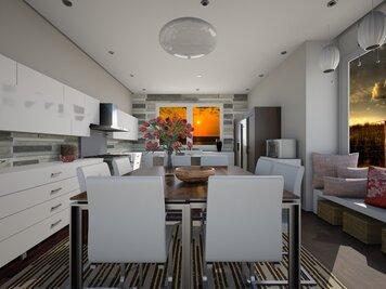 Online design Contemporary Kitchen by Dale C. thumbnail