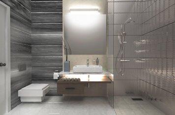 Online design Modern Bathroom by Nazila A. thumbnail