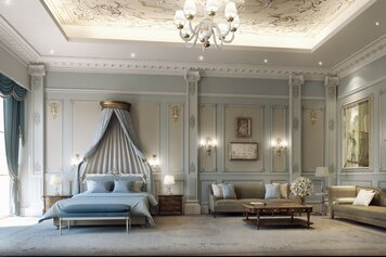 Online design Traditional Bedroom by Nora B. thumbnail