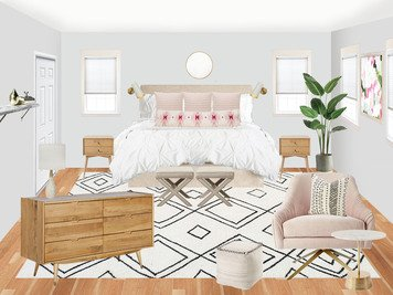 Online design Contemporary Bedroom by Amisha D. thumbnail