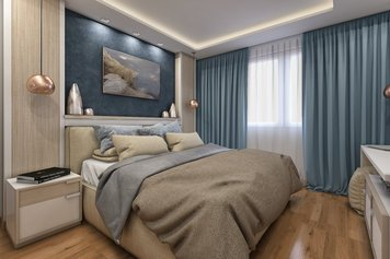 Online design Contemporary Bedroom by Rajna S. thumbnail