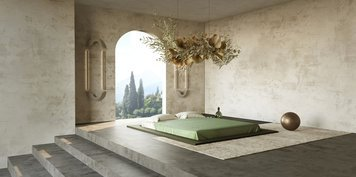 Online design Transitional Bedroom by llewellyn C. thumbnail
