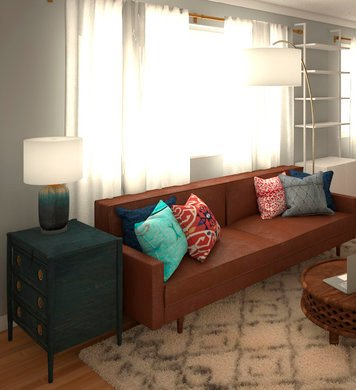 Online design Eclectic Combined Living/Dining by Marina S. thumbnail
