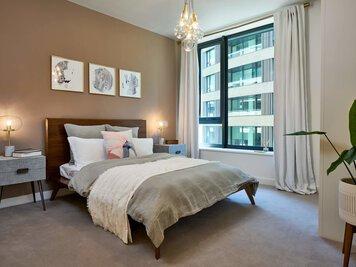 Online design Transitional Bedroom by Monika V. thumbnail