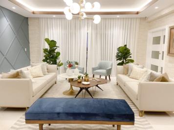 Online design Contemporary Living Room by Perla V. thumbnail