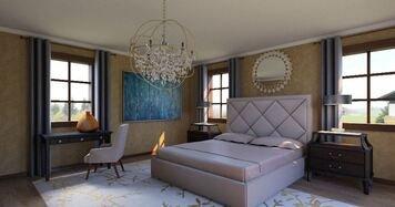 Online design Glamorous Bedroom by Nancy S. thumbnail