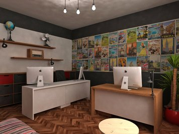 Online design Eclectic Business/Office by Dragana V. thumbnail