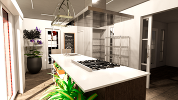 Online design Transitional Kitchen by Nedith A. thumbnail
