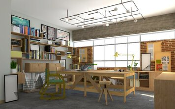 Online design Eclectic Business/Office by Eleni M. thumbnail