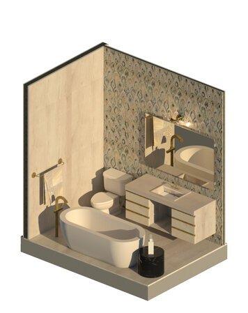 Online design Contemporary Bathroom by Ornela N. thumbnail