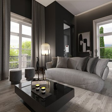 Online design Contemporary Living Room by Nathalie I. thumbnail