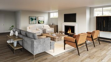 Online design Contemporary Living Room by Ashley H. thumbnail