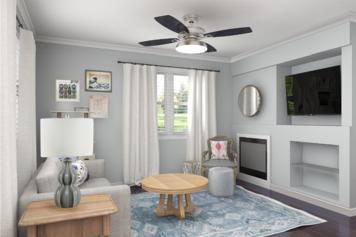 Online design Transitional Living Room by Jennifer A.  thumbnail