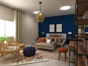 Online design Eclectic Bedroom by Dragana V. thumbnail