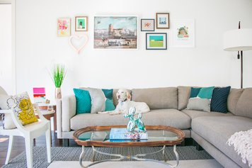 Online design Contemporary Living Room by Michelle B. thumbnail