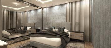 Online design Modern Bedroom by mujtaba m. thumbnail