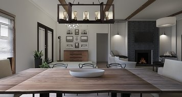 Online design Transitional Dining Room by Dale C. thumbnail