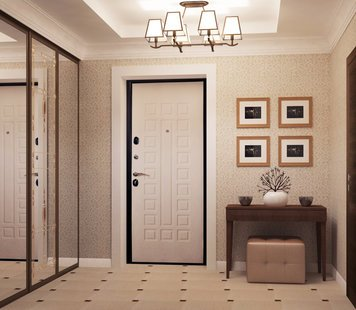 Online design Traditional Hallway/Entry by Luba K. thumbnail