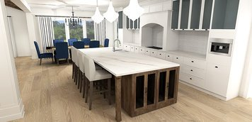 Online design Transitional Kitchen by Laura A. thumbnail