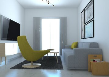 Online design Contemporary Living Room by Eleni M. thumbnail