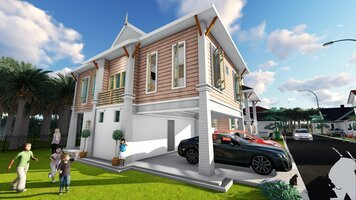 Online design Traditional Home/Small Office by FatehahCheMat thumbnail