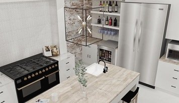 Online design Contemporary Kitchen by Brooke S. thumbnail