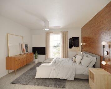Online design Modern Bedroom by Courtney B. thumbnail