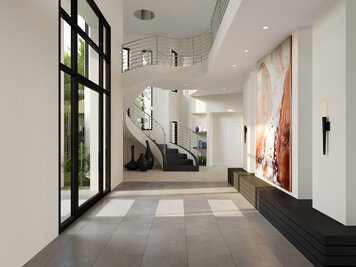 Online design Contemporary Hallway/Entry by Wanda P. thumbnail