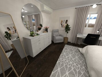 Online design Contemporary Bedroom by Jatnna M. thumbnail