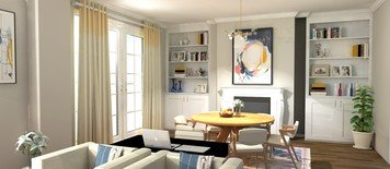 Online design Eclectic Dining Room by Keerthana V. thumbnail