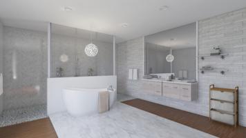 Online design Modern Bathroom by Robert J. thumbnail