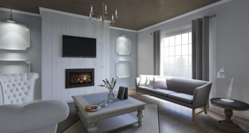 Online design Country/Cottage Living Room by Kimberley S. thumbnail