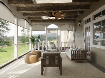 Online design Transitional Patio by Casey H. thumbnail