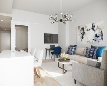 Online design Transitional Living Room by Erin R. thumbnail