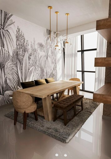 Online design Contemporary Dining Room by Nora B. thumbnail