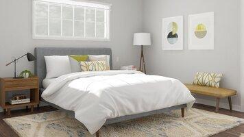 Online design Modern Bedroom by Katelin S. thumbnail
