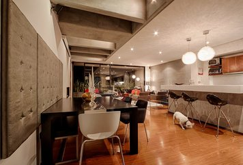 Online design Eclectic Dining Room by Andres S. thumbnail