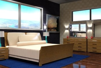 Online design Contemporary Bedroom by Sheena C. thumbnail