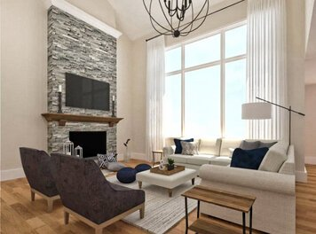 Online design Transitional Living Room by Shasta P. thumbnail